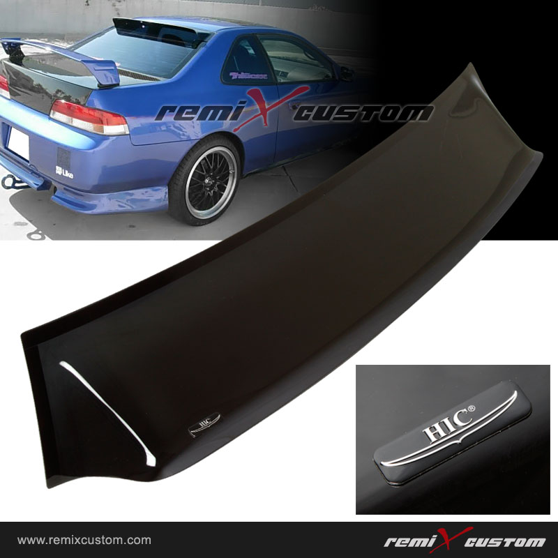 97 01 honda prelude hic rear roof window visor spoiler v2 for 2000 honda civic rear window visor