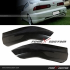 98-01 Acura Integra 2DR Hatchback Type R Style PU Rear Body Bumper Caps Kit