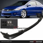 09-11 Honda Civic 2DR Coupe HFP Front Body Bumper PU Lip Spoiler Kit