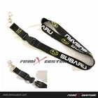 JDM Subaru 20mm Keychain Neck Lanyard - Yellow