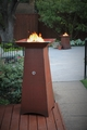 50 inch tall Garden Torch - Hidden Tank