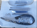 Brand new soft top chrome molding kit for Mercedes 190sl w121