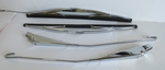 chrome windshield wiper arms blades kit fits mercedes 230sl w113 113 pagoda
