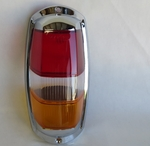 Euro style Amber taillight with chrome fits Mercede w121 w120 190sl Ponton