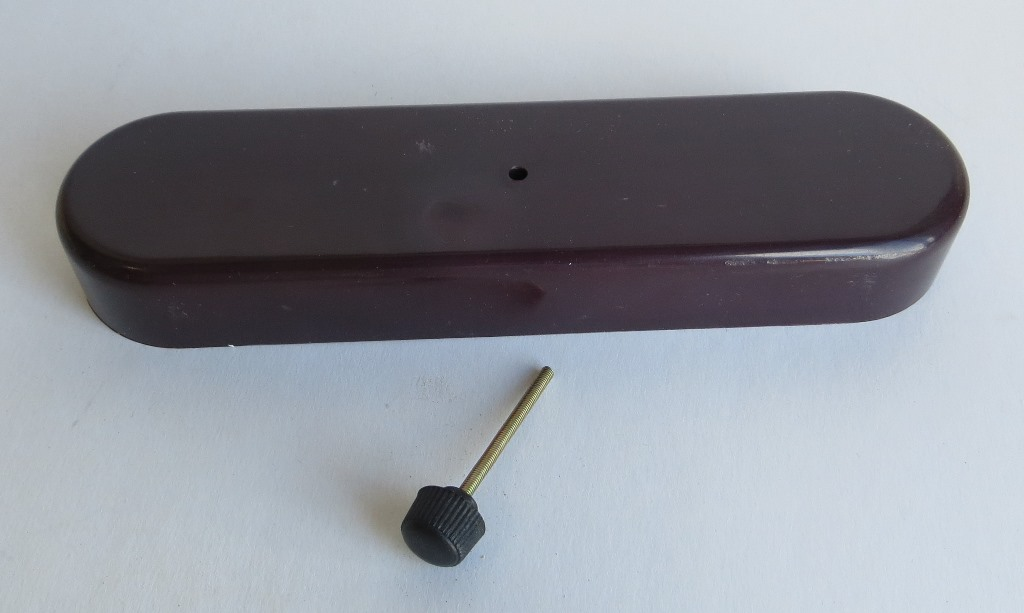 fuse box cover with screw knob fits 190sl ponton mercedes. Black Bedroom Furniture Sets. Home Design Ideas