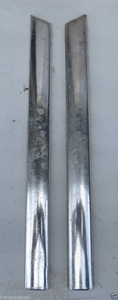 mercedes 113 right and left front fender molding