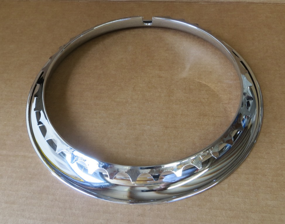 Mercedes benz 190sl w121 190 sl 13 inch trim rings new for Mercedes benz ring