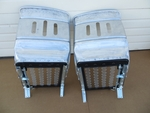 New pair of early style bucket seats fits mercedes w121 190sl 190slr