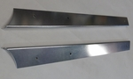 Pair of drip molding for 190 sl MERCEDES 190sl W121