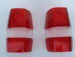 Red tail light lens for mercedes 190sl 190 sl w121 ponton