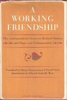 A Working Friendship   -   Strauss & von Hofmannsthal