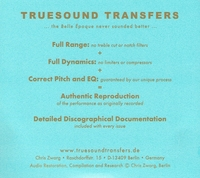 Adolf Wallnofer  &  Hermann Winkelmann       (2-Truesound Transfers 4004)