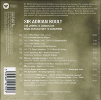 Adrian Boult  -  The Complete Conductor   (10-Warner 19270)