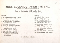 After the Ball     (AMR-301)      Original London 1954 cast LP