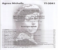 Agnes Nicholls             (Truesound Transfers 3041)