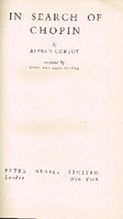 In Search of Chopin   (Alfred Cortot)