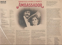 Ambassador   (English RCA SER 5618)    Original London cast LP