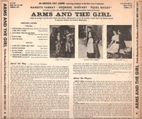 "Arms and the Girl   (Decca 10"" DL 5200)     Original Broadway cast LP"