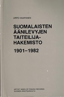 Artist Index of Finnish Recordings  (Haapanen)    9519222219
