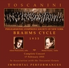 Arturo Toscanini;  Michel Piastro, Alfred Wallenstein  (Brahms)  (2-Immortal Performances IPCD 1077)