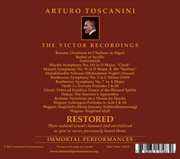 Arturo Toscanini - Victor Records Restored  (3-Immortal Performances IPCD 1087)