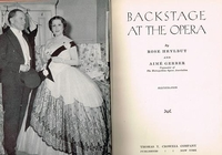 Backstage at the Opera   (Met Opera)    (Heylbut & Gerber)