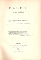 Balfe, His Life and Work     (Wm. Alexander Barrett)