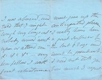 Balfe, Michael - signed 4-face personal letter, June 5, 1861