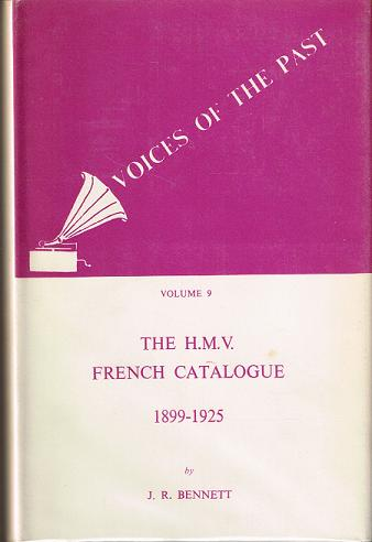 Voices of the Past, Voll. IX - French Catalogue (John R. Bennett)