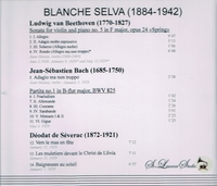 Blanche Selva & Joan Massia, Vol. I    (St Laurent Studio YSL 78-103)