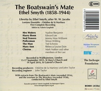 Boatswain's Mate;  The Wreckers  (both Ethel Smyth)  (Odaline de la Martinez)   (2-Retrospect Opera RO 001)