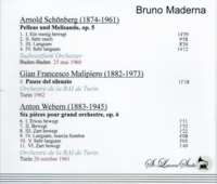 Bruno Maderna, Vol. XXX        (St Laurent Studio T-602)