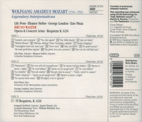 Bruno Walter;  Steber, London, Pinza, Pons Tourel  (3-Sony SM3K 47211)