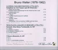 Bruno Walter, Vol. I      (St Laurent Studio YSL 78-111)