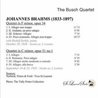 Busch String Quartet, Vol. III;   Rudolf  Serkin      (St Laurent Studio YSL 78-261)