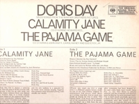 Calamity Jane;  The Pajama Game (CBS 63032)  Warner Brothers  LP