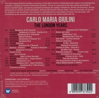 Carlo Maria Giulini   (London Years)   (17-Warner 93739)