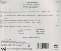 Cecilia  (Refice)  -  Renata Scotto, Harry Theyard    (VAI 1042)