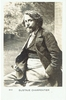 Charpentier, Gustav - signed sepia handmade photo postcard