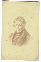Cherubini, Luigi - unsigned sepia mounted photo