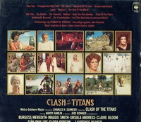 Clash of the Titans   (Laurence Rosenthal)   (CBS 73588)   Soundtrack