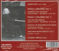 Claudio Arrau;   Rosbaud, Cantelli, Ormandy   (Archipel 0260)