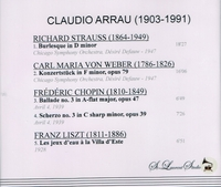 Claudio Arrau, Vol. II;  Defauw  (St Laurent Studio YSL 78-085)