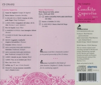 Conchita Supervia, Vol. V;   Maria Barrientos    (Marston 51010)