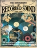 Iconography Recorded Sound  (Michael G. Corenthal)    9780318215655