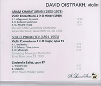 David Oistrakh, Vol. II     (St Laurent Studio YSL 78-034)
