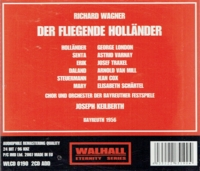 Der Fliegende Hollander  (Keilberth;  George London, van Mill, Traxel, Varnay)  (2-Walhall 0190)