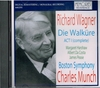 Walkure   (Munch;  Margaret Harshaw, Albert da Costa & James Pease)    (Memories 2292)