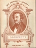 Donizetti Society Journal, Vol.II (John Watts) 978-0306762734