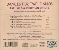 Earl Wild;   Christian Steiner    (Ivory Classics 70803)